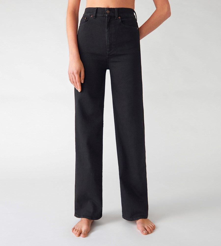 Jeanerica | Women's Pyramid 5-Pocket Jeans | Black 2 Weeks