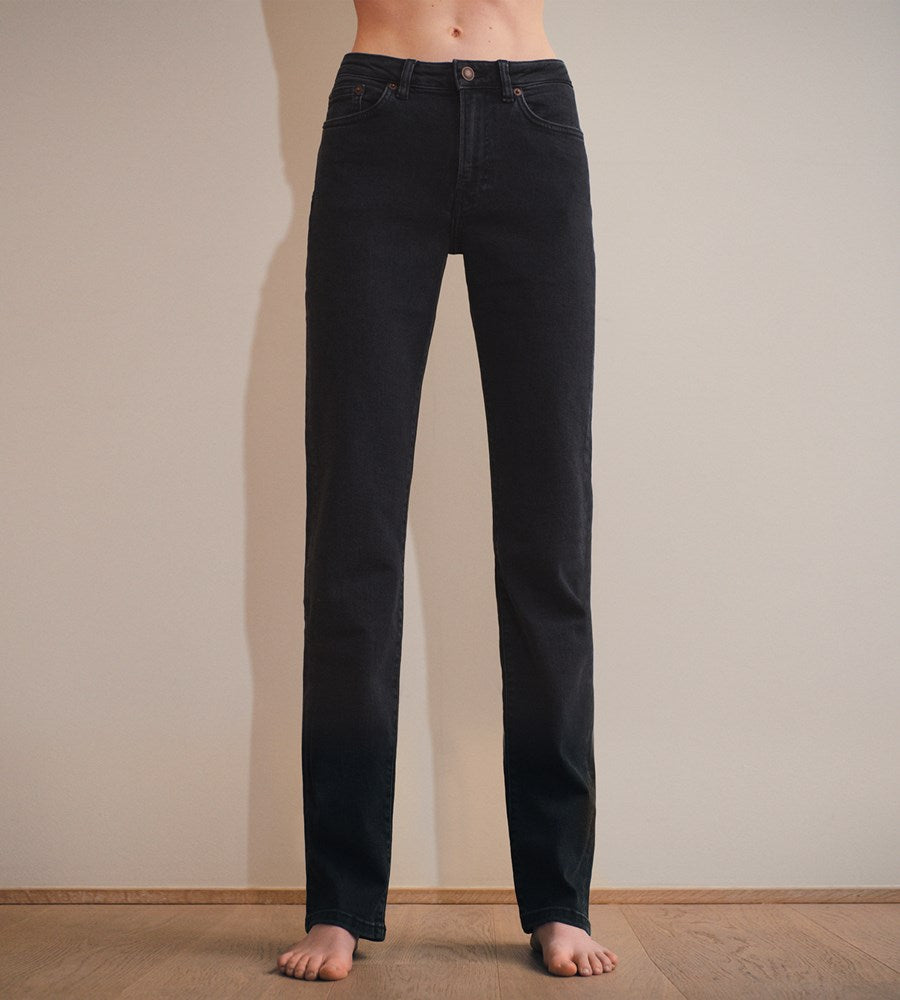Jeanerica | Women's Midtown 5-Pocket Jeans | Used Black