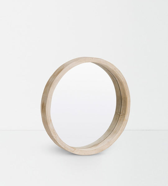 Papaya Jenson Round Mirror
