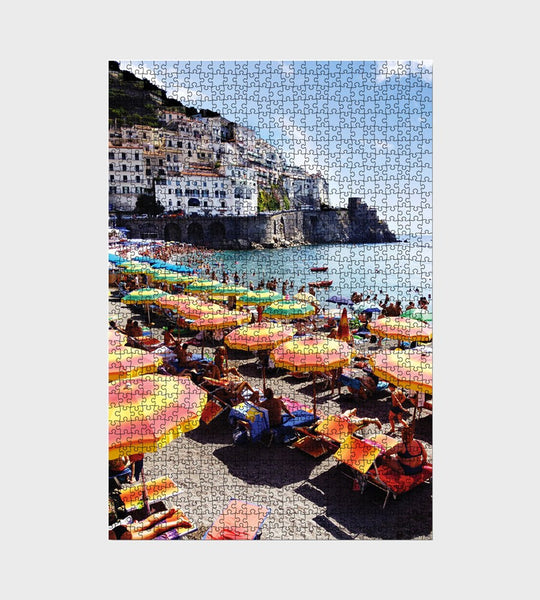 Journey of Something | Amalfi Neapolitan Puzzle | 1000 Piece
