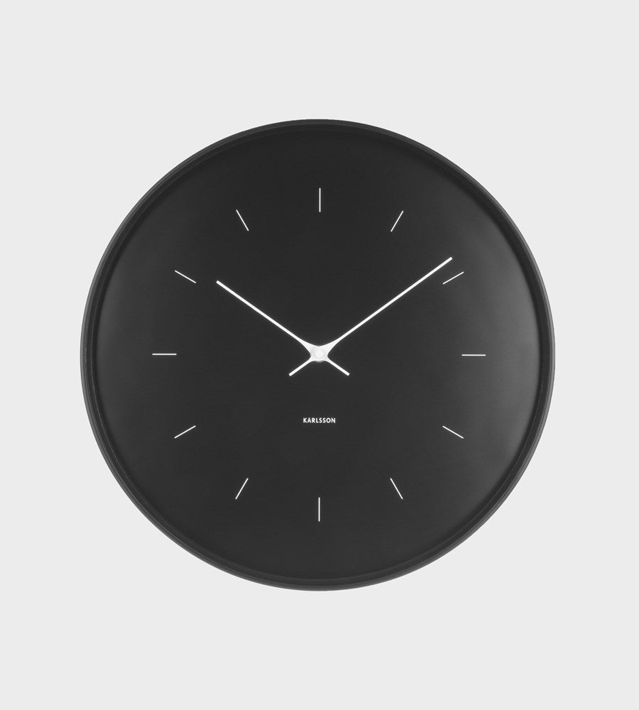 Karlsson | Large Black Wall Clock