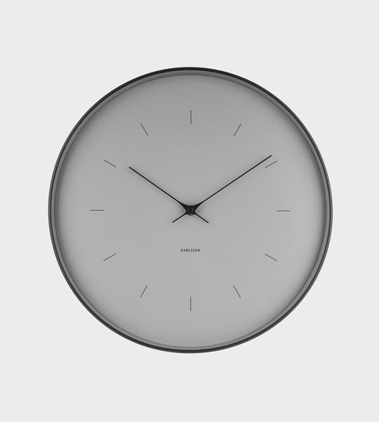 Karlsson | Large Grey Wall Clock