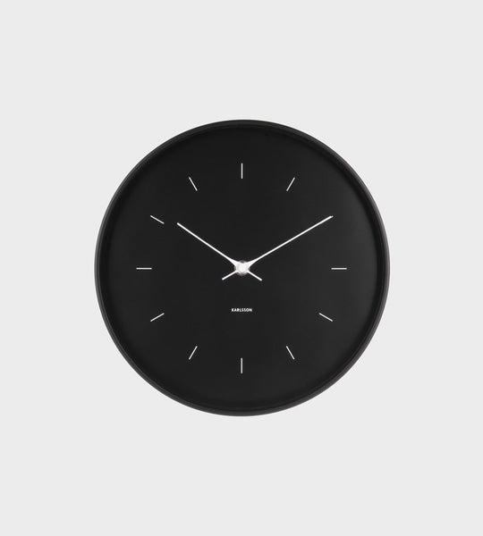 Karlsson | Medium Black Wall Clock