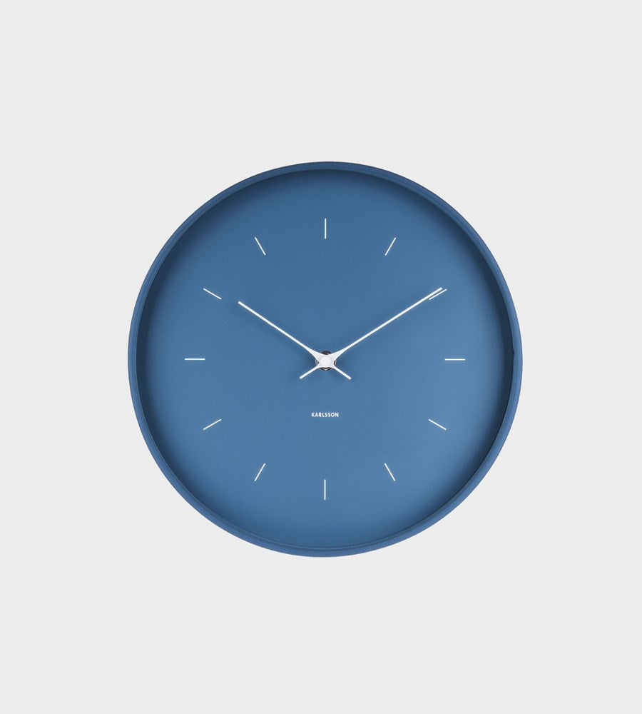 Karlsson | Medium Blue Wall Clock
