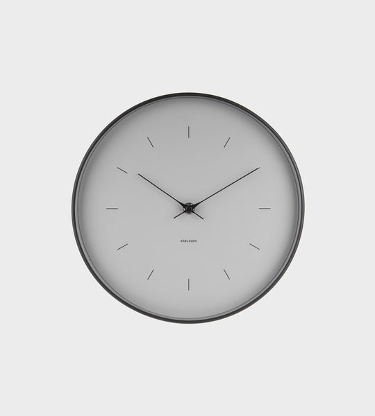 Karlsson | Medium Grey Wall Clock