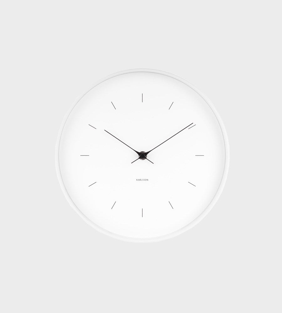 Karlsson | Medium White Wall Clock