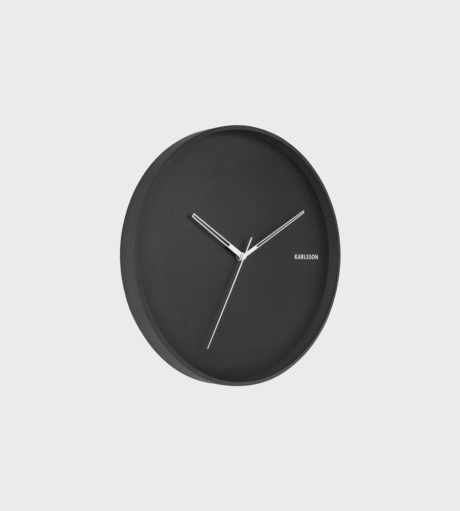 Karlsson | Hue Wall Clock | Black
