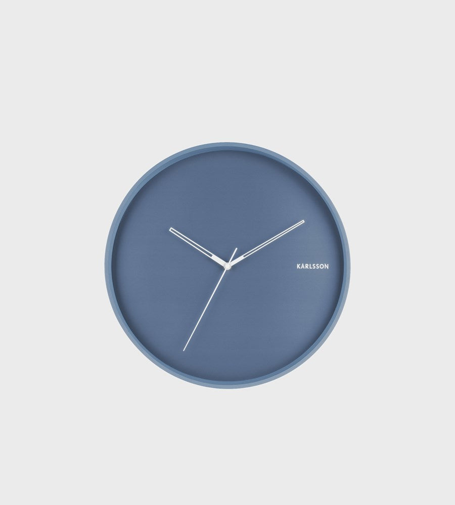 Karlsson | Hue Wall Clock | Blue