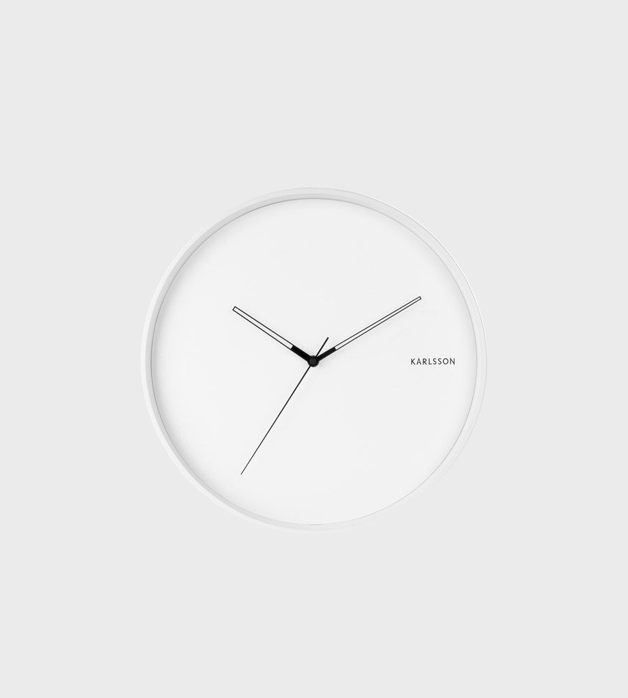 Karlsson | Hue Wall Clock | White
