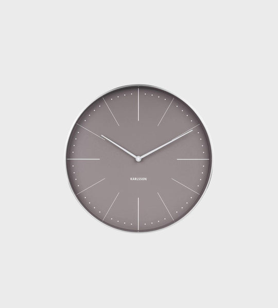 Karlsson | Normann Wall Clock | Grey
