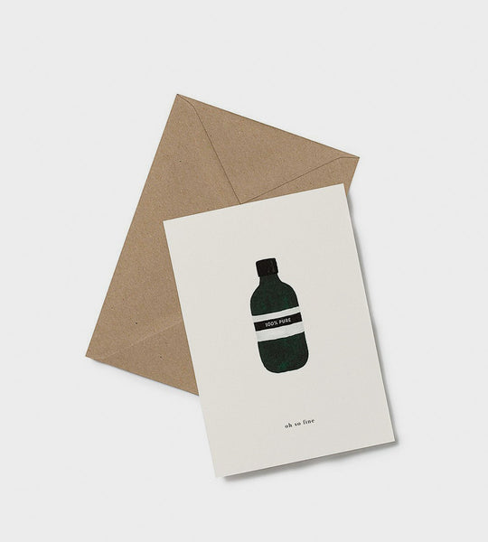 Kartotek | Bottle Card