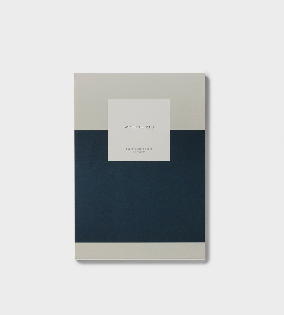 Kartotek | Notepad with Cover | A5 Ruled Navy