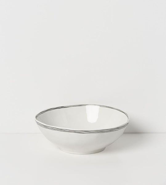 Kaspian Porcelian Deep Serving Bowl