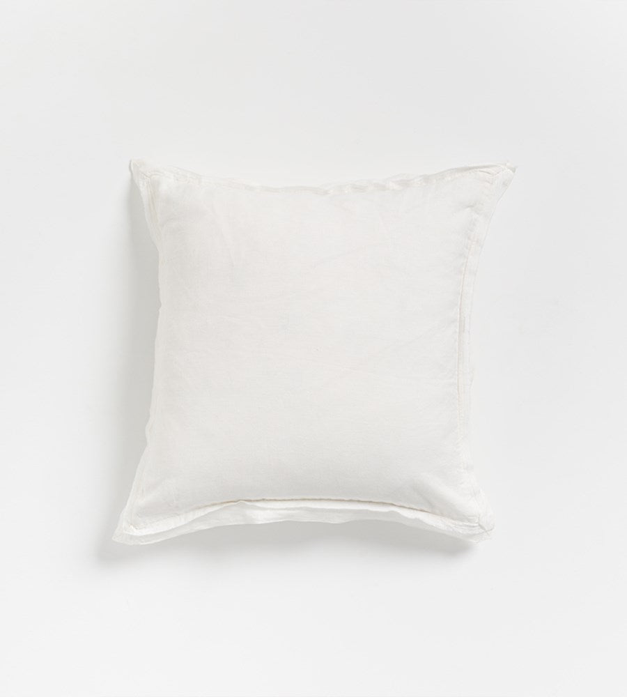 Kip Linen Cushion | Ecru