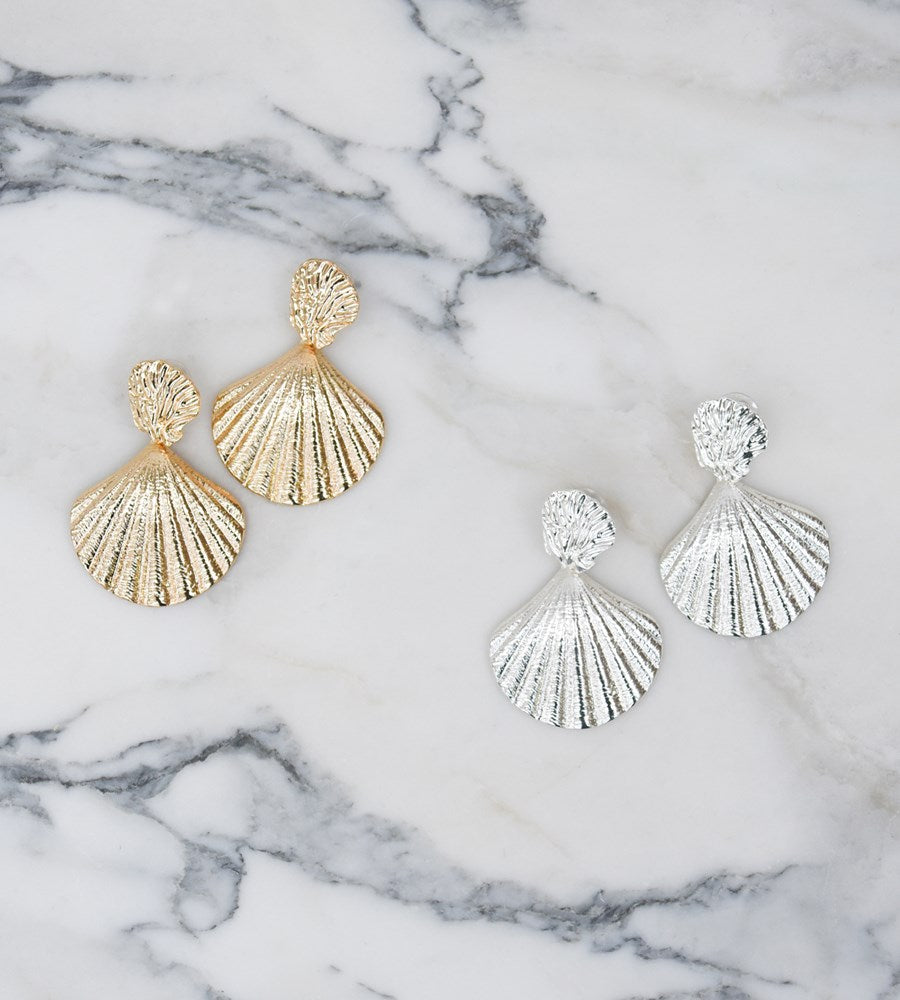La Tribe | Capri Shell Earrings