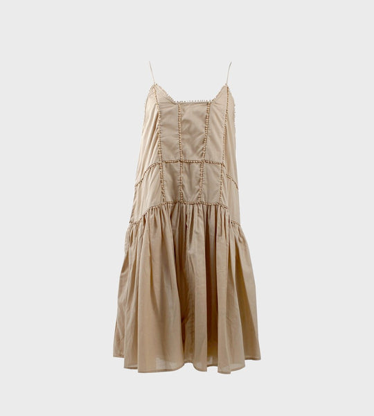 La Tribe Alia Dress Beige