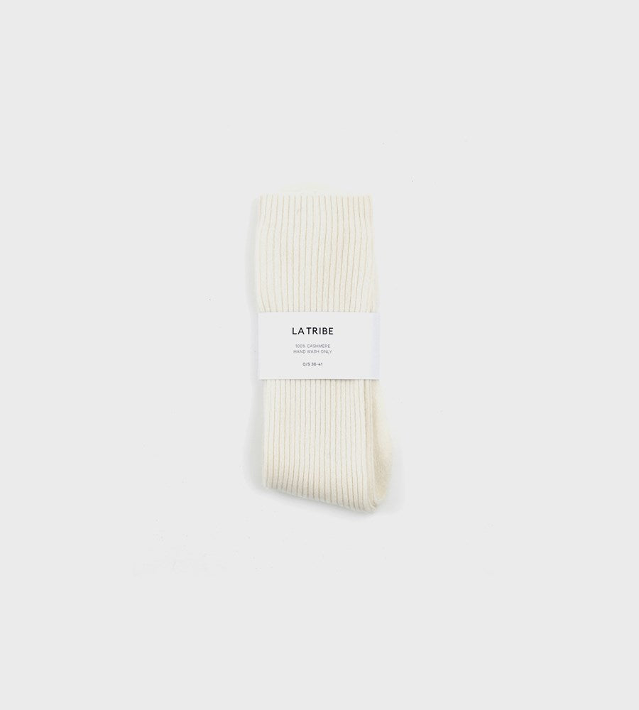La Tribe | Cashmere Bed Sock | Ivory