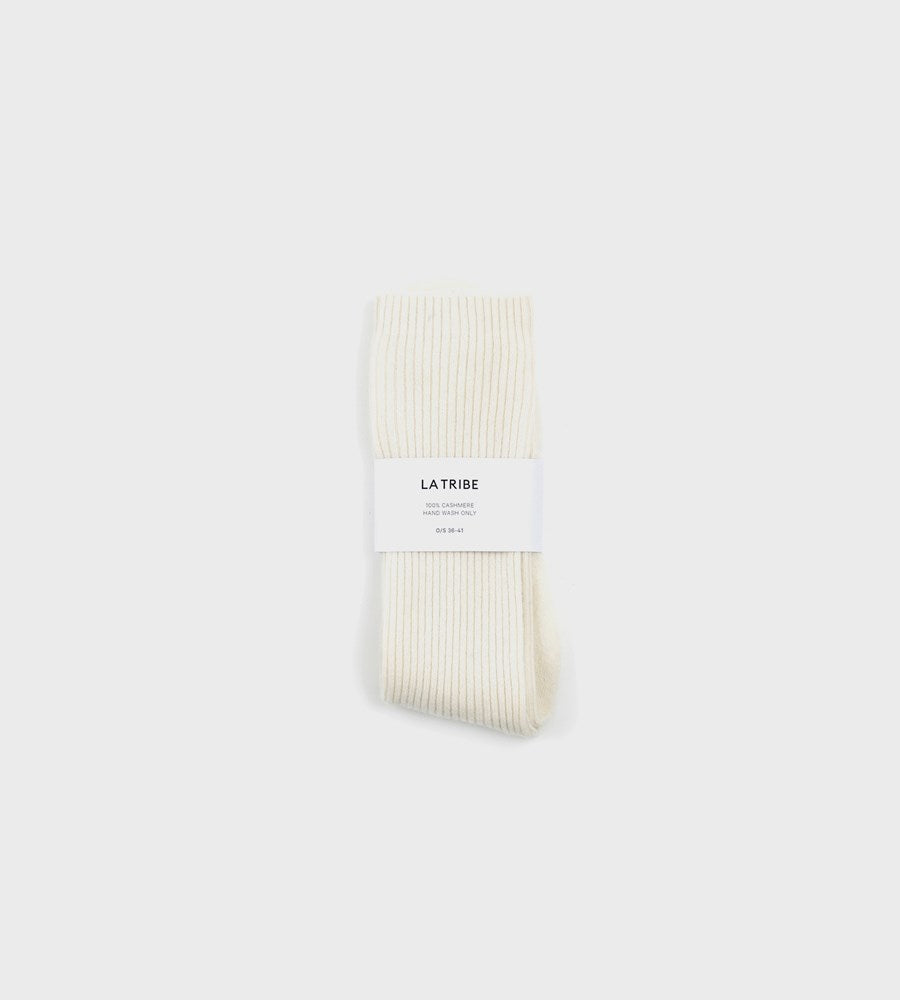 La Tribe | Cashmere Socks | Cream