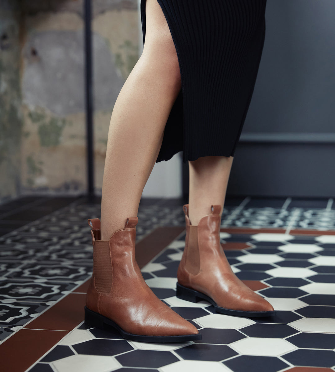 La Tribe | Chelsea Boot | Rich Tan