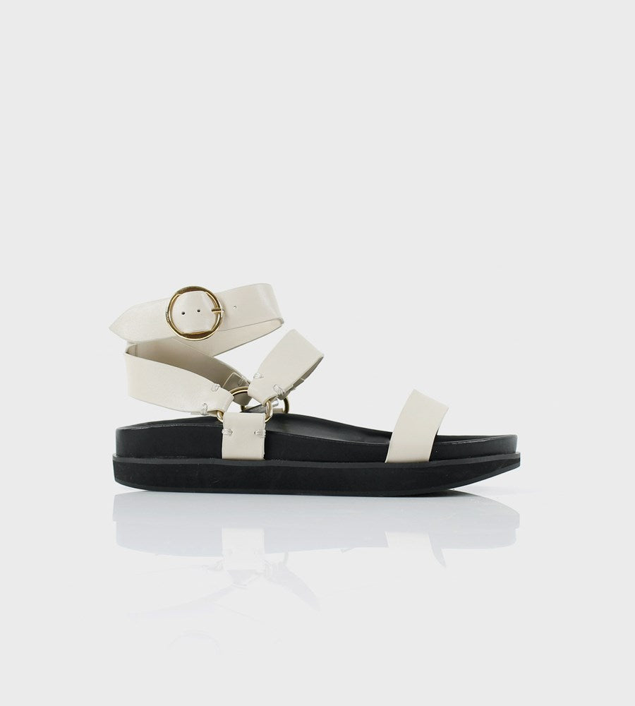 La Tribe | FR Exclusive | Platform Sandal | Bone