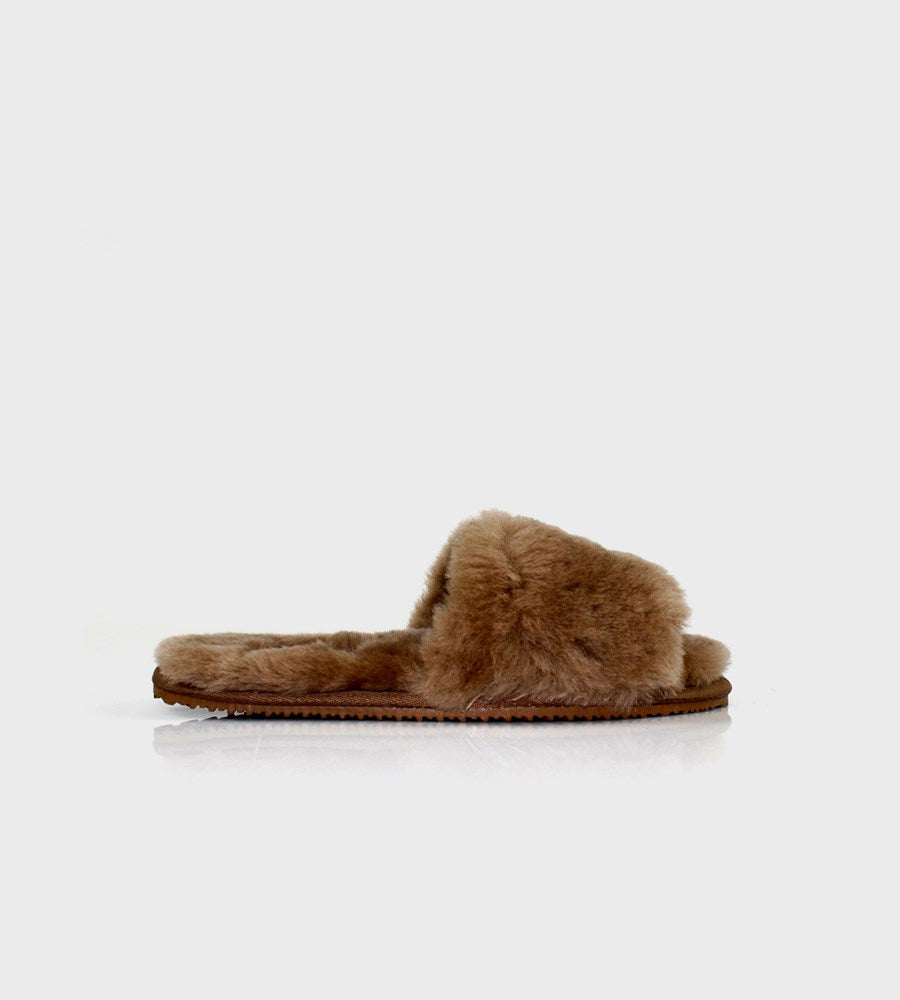 La Tribe | Sheepy Slipper | Tobacco