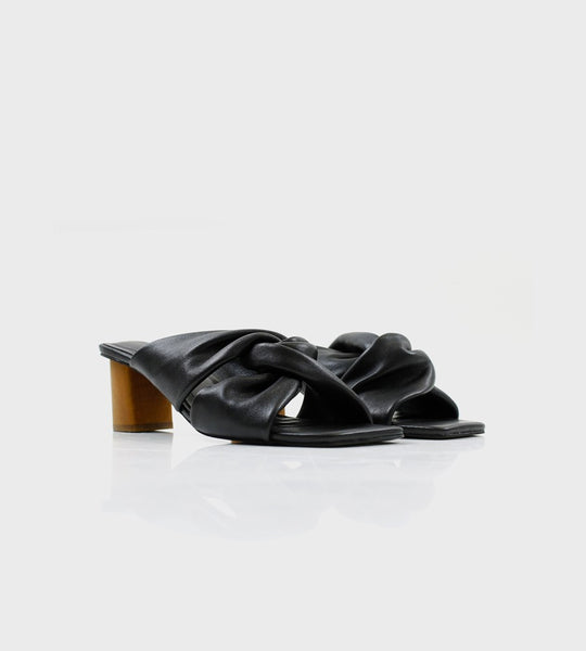 La Tribe | Twist Mule | Black