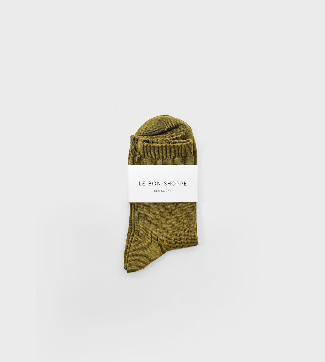 Le Bon Shoppe | Her Socks Cotton | Pesto