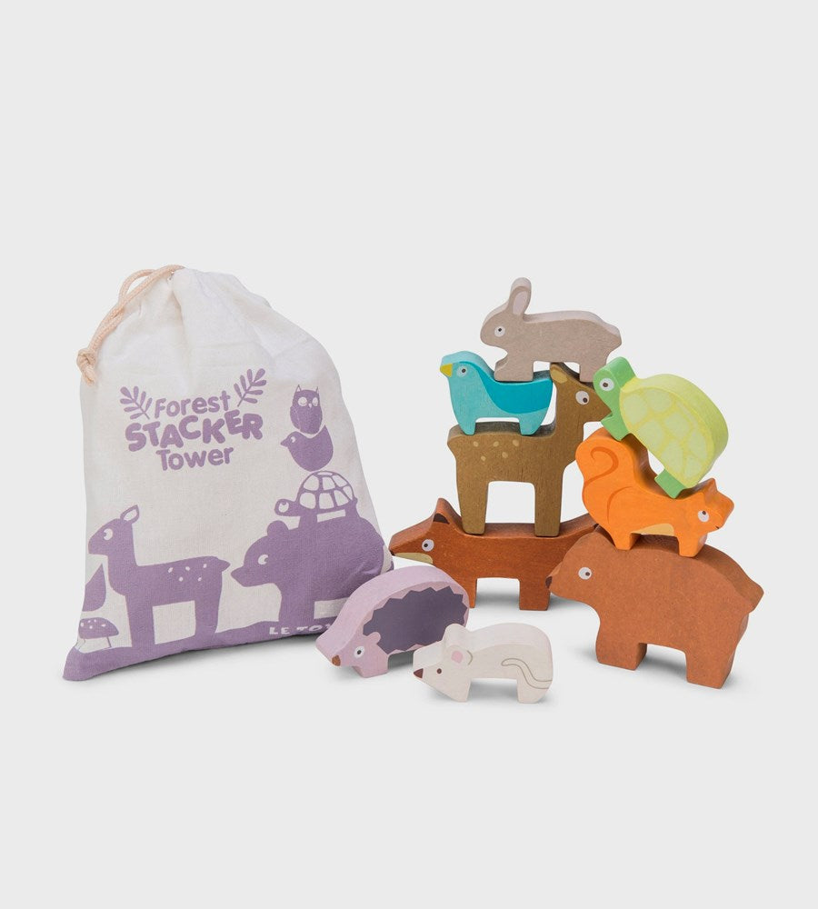 Le Toy Van | Forest Stacker Tower & Bag
