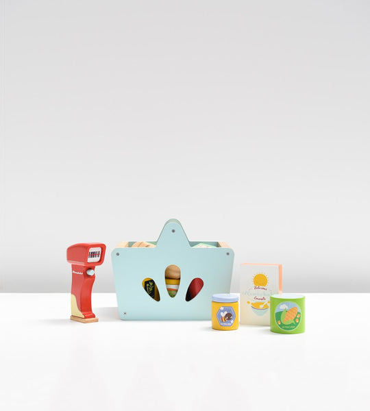 Le Toy Van Groceries and Scanner Kit
