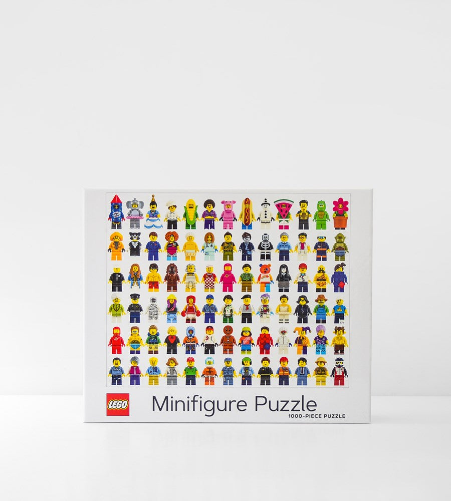 Lego | Minifigure Puzzle | 1000 Pieces