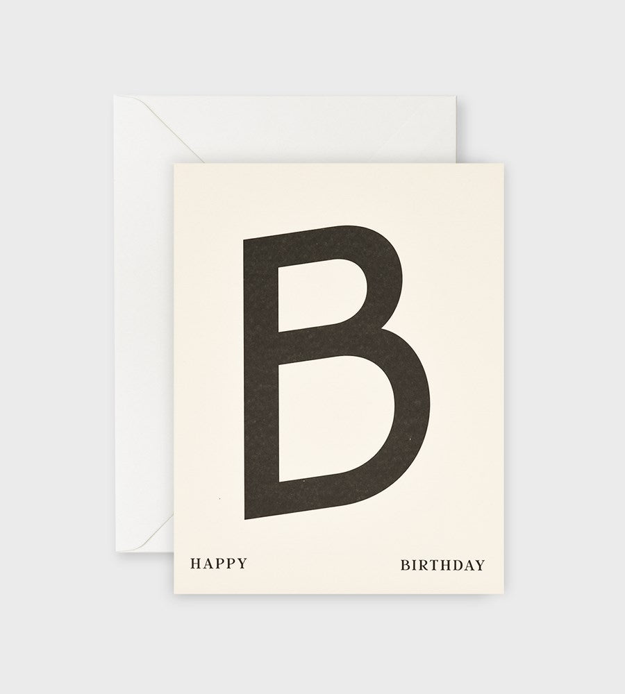 Lettuce | Card | Happy Birthday Typography