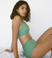 Lonely Swim Dita Brief Apple Green