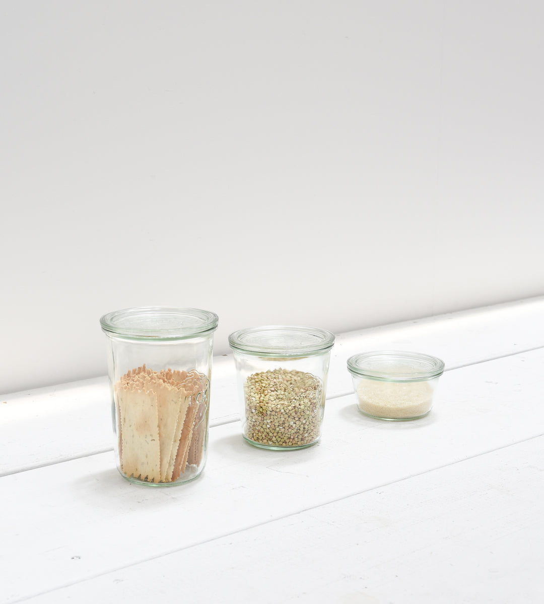 Weck Mold Jar with Glass Lid