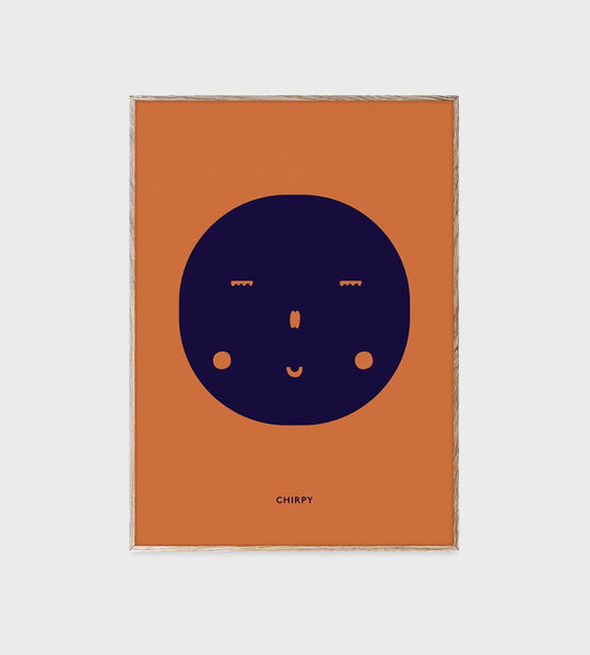 Mado | Feelings | Chirpy | Unframed Print