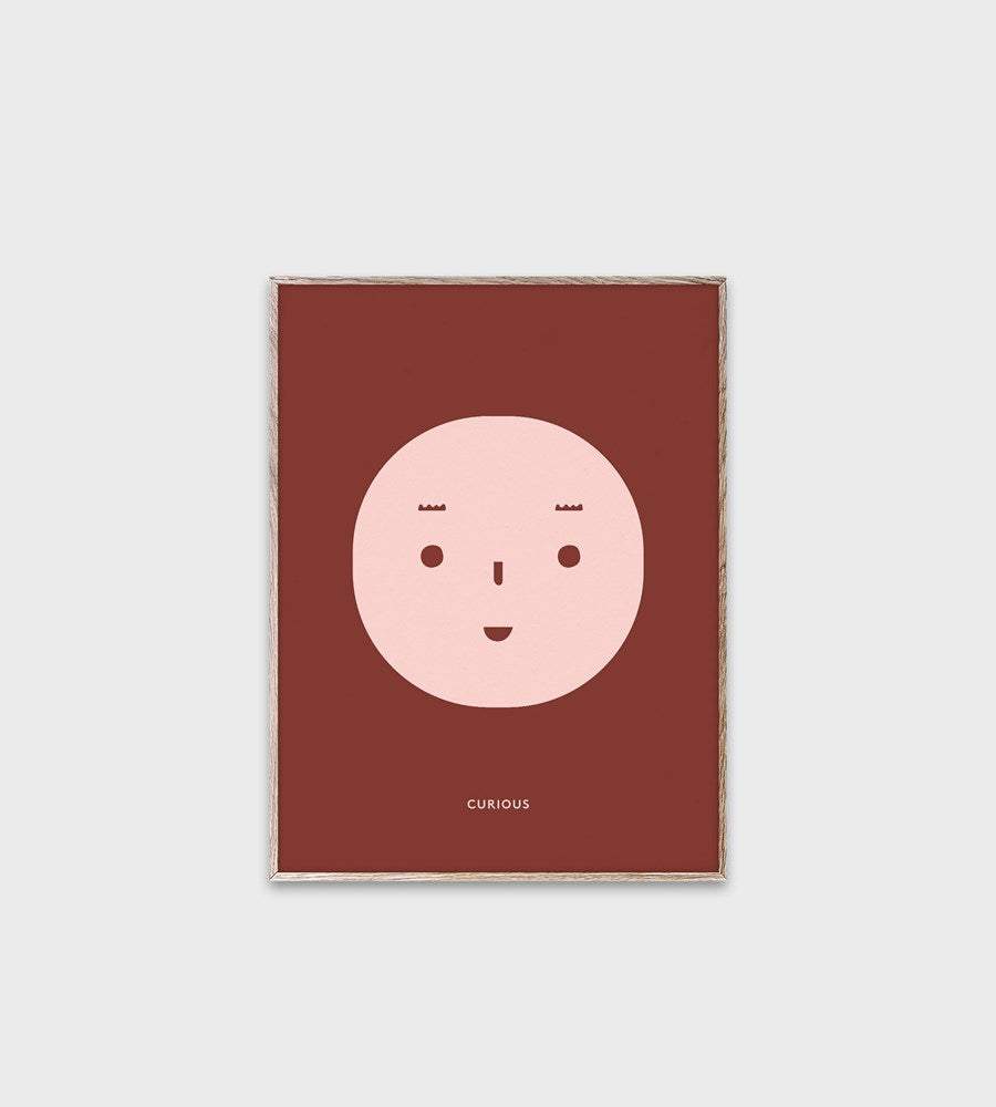 Mado | Feelings | Curious | Framed Print | 30 x 40 cm