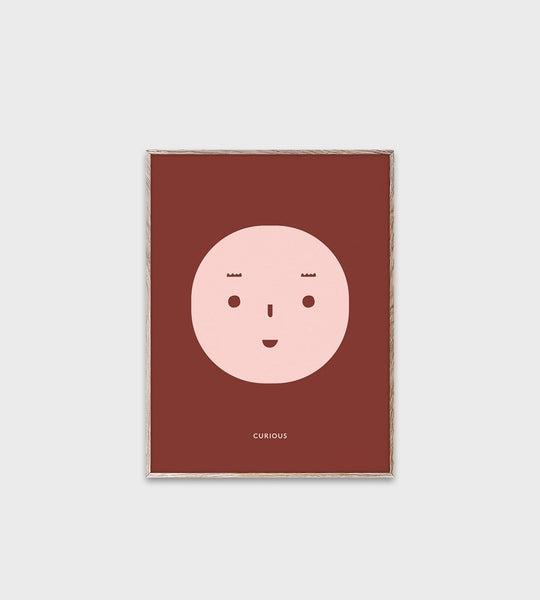 Mado | Feelings | Curious | Unframed Print