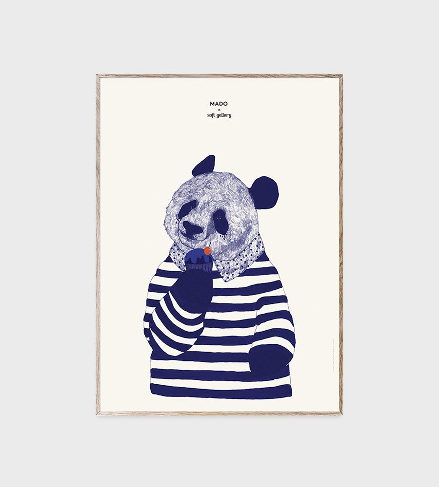 Mado | Soft Gallery | Coney | Framed Print | 50 x 70 cm