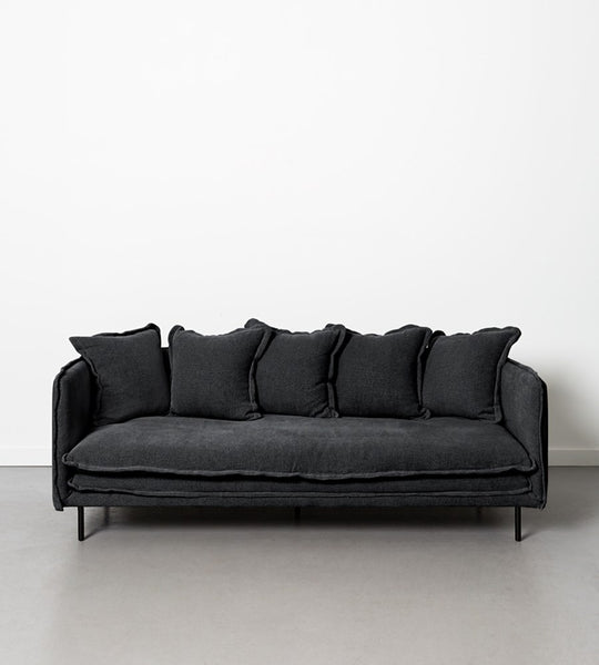 Marcello Sofa | 3 Seater | Black