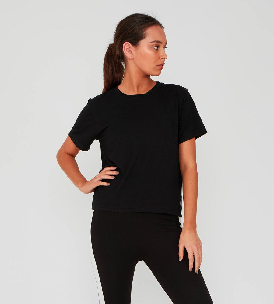 Marlow | Anytime Tee | Black