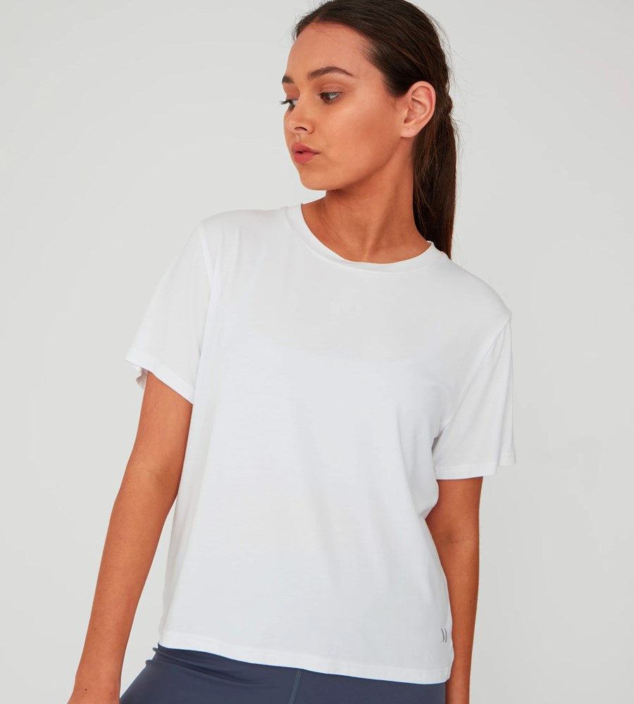 Marlow | Anytime Tee | White