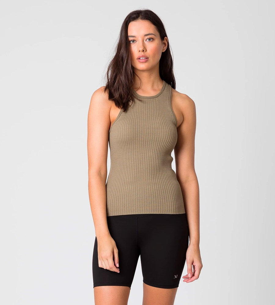 Marlow | Everyday Knit Tank | Olive