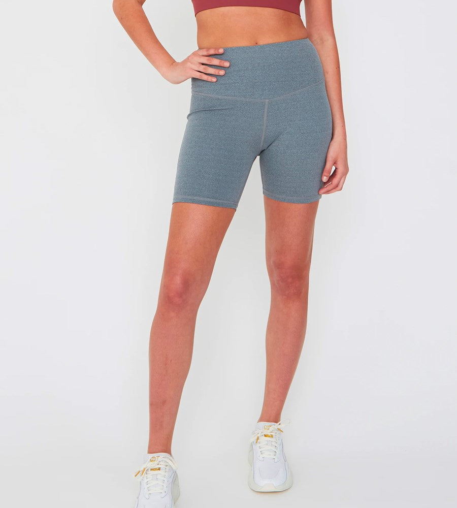 Marlow | Vapour Hot Short | Grey Marle