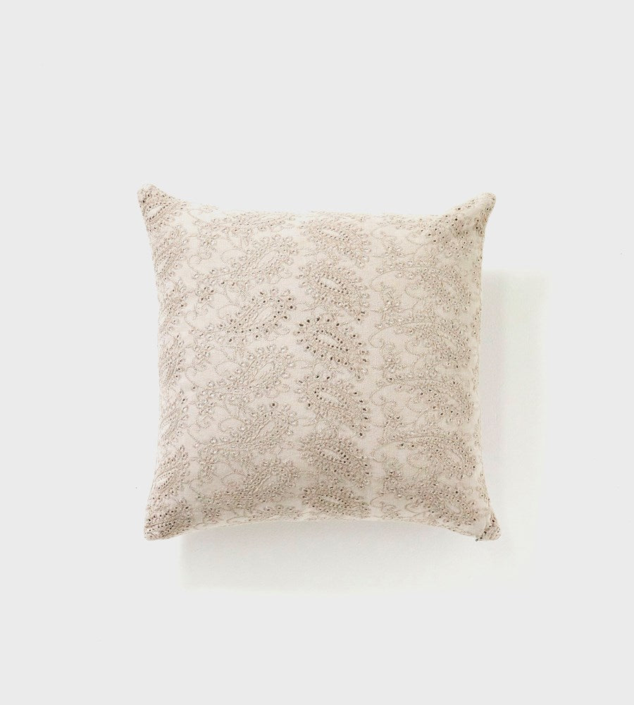 Martha | Velvet Cushion | Grey