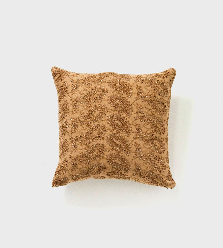 Martha | Velvet Cushion | Mustard
