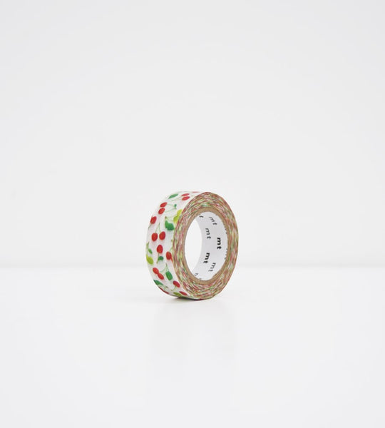 Masking Tape MT | Wide Roll Washi Tape | Cherries