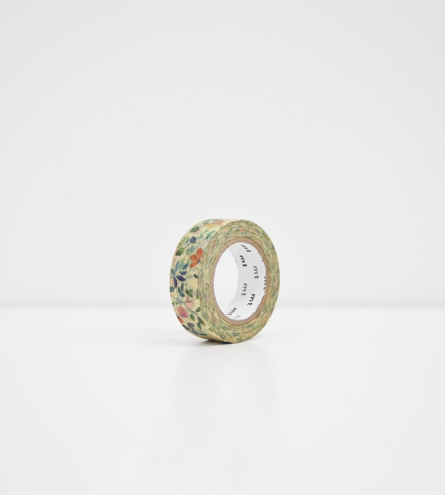 Masking Tape MT | Wide Roll Washi Tape | Watercolour Flower