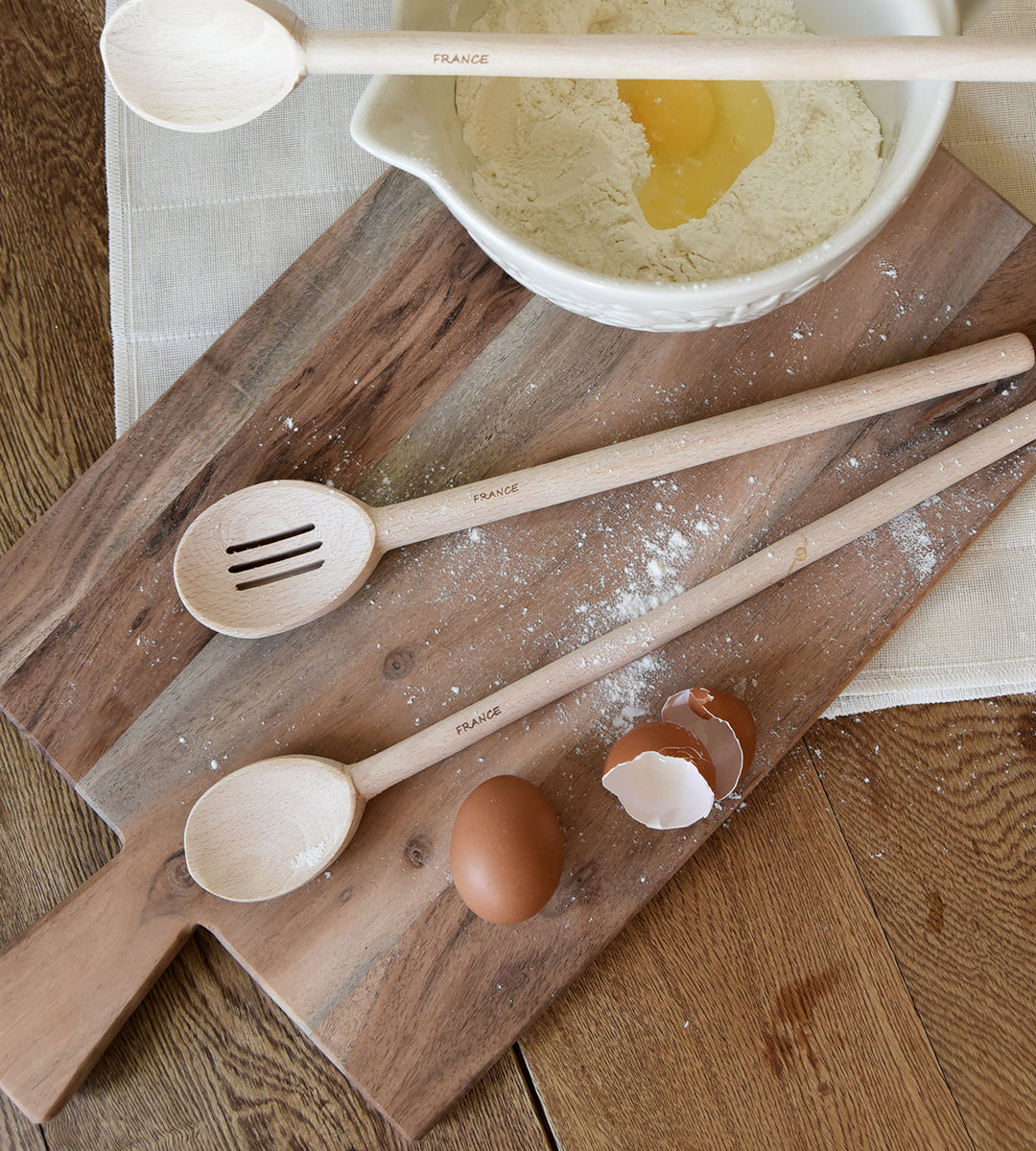 Wooden Spoon | Slotted