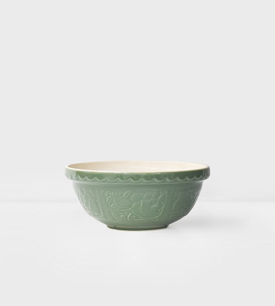 Mason Cash | Forest Mixing Bowl | Owl Green