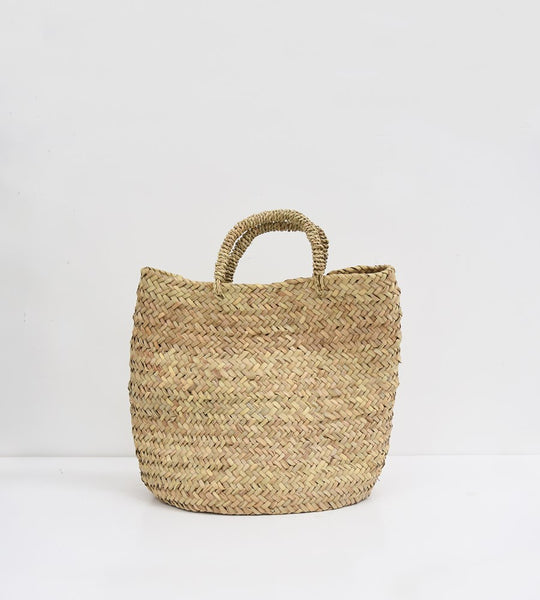 Meknes | French Market Basket Round Shopper
