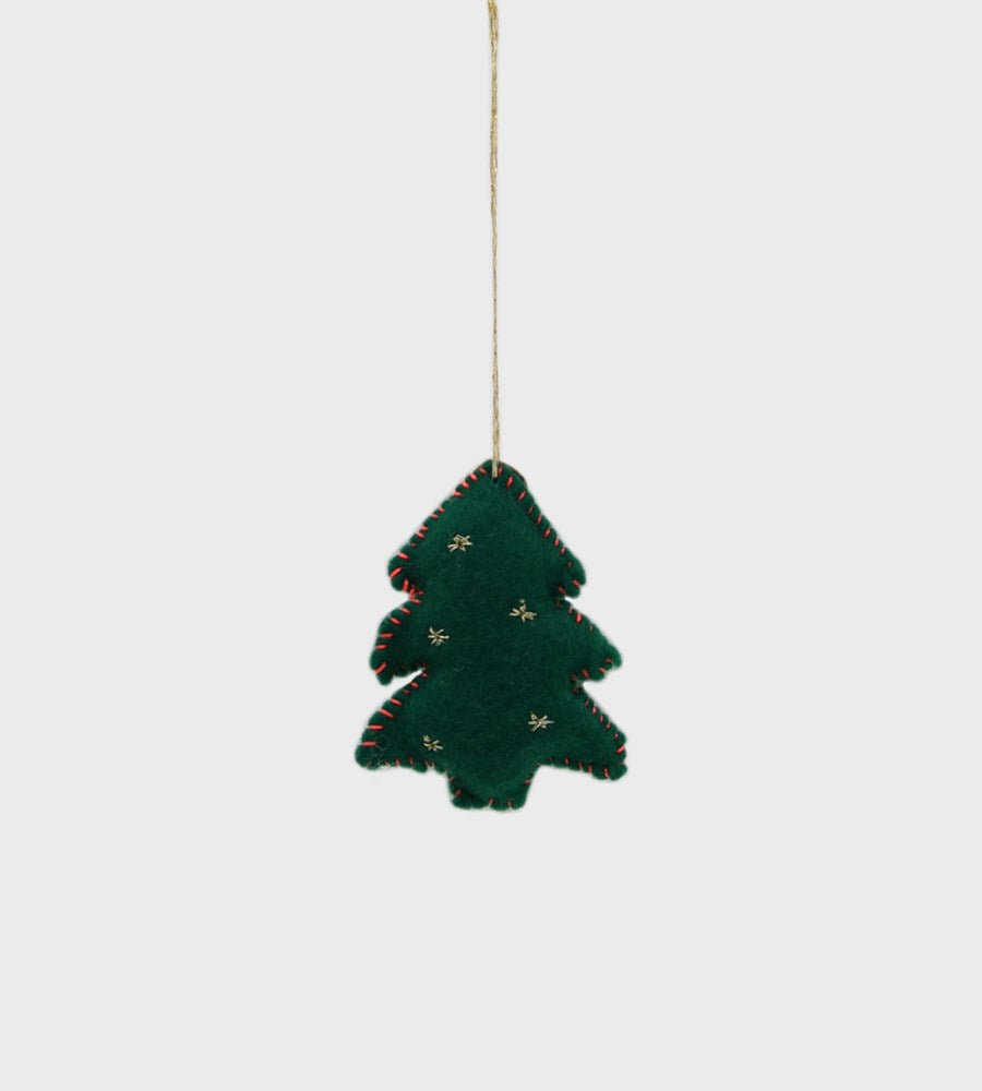 Christmas Decoration | Mini Woodland Felt | Green Christmas Tree